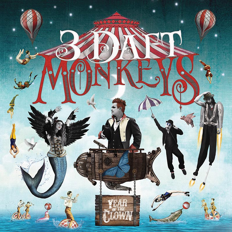 3 Daft Monkeys - Year of the Clown low res
